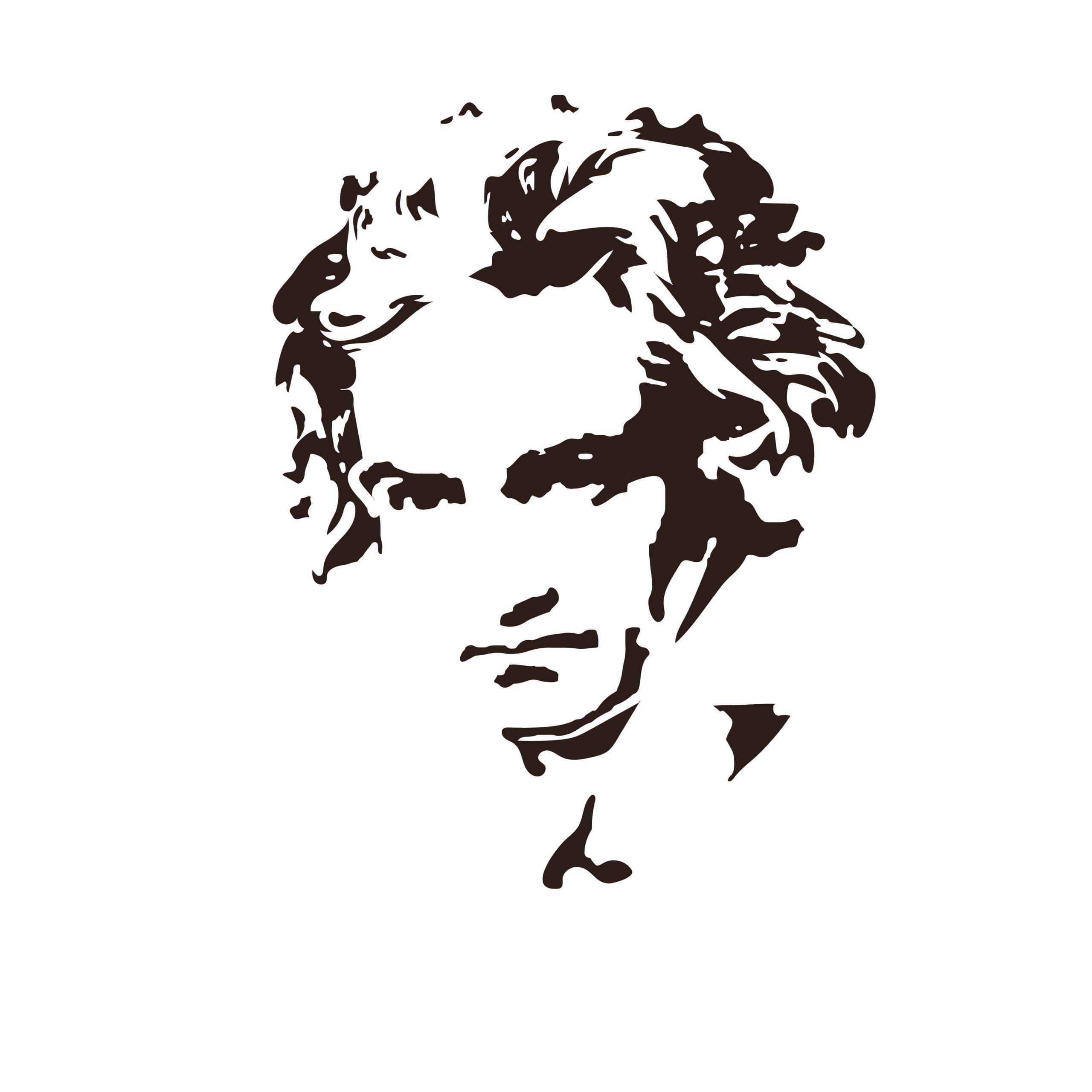 Composer,Ludwig,Van,Beethoven.,Vector,Portrait